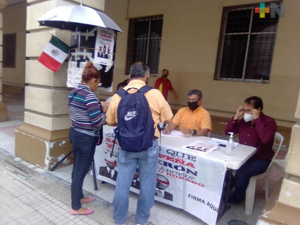 En Veracruz, este viernes último día de consulta ciudadana para enjuiciar a expresidentes