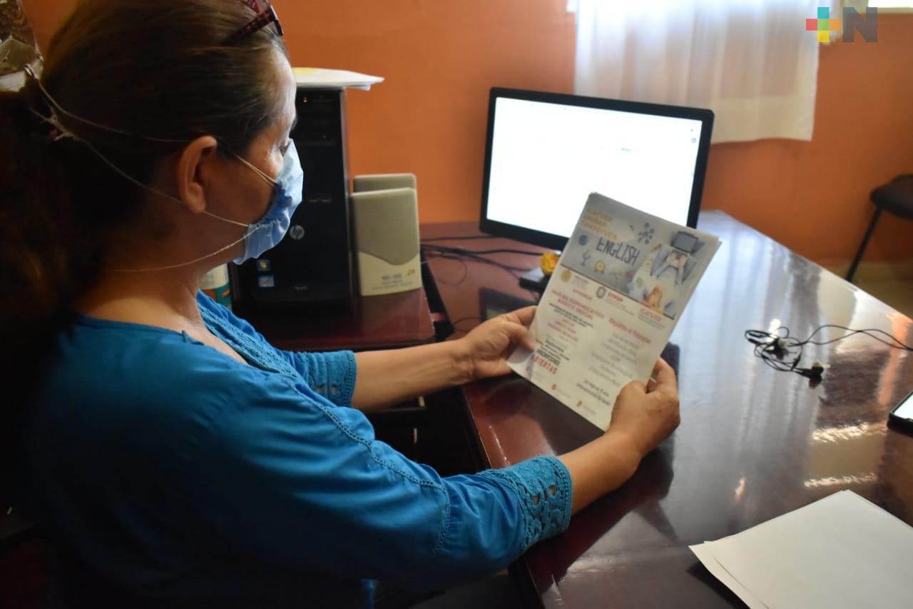 Ofrece ICATVER cursos de inglés básico en Tantoyuca