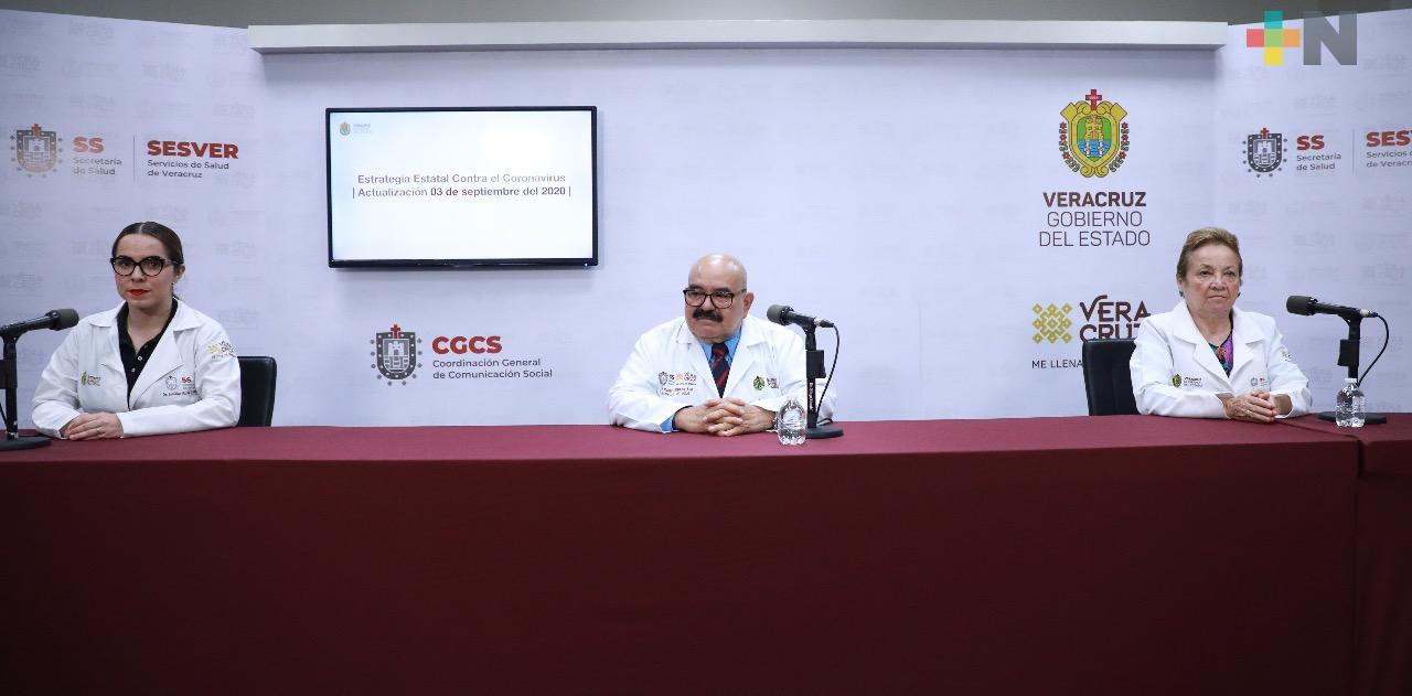 Hay 28 mil 924 casos positivos de COVID-19 en Veracruz