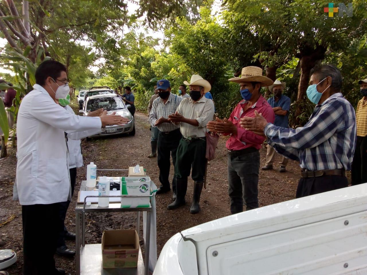 Jurisdicciones sanitarias suman esfuerzos para mitigar contagios de COVID-19