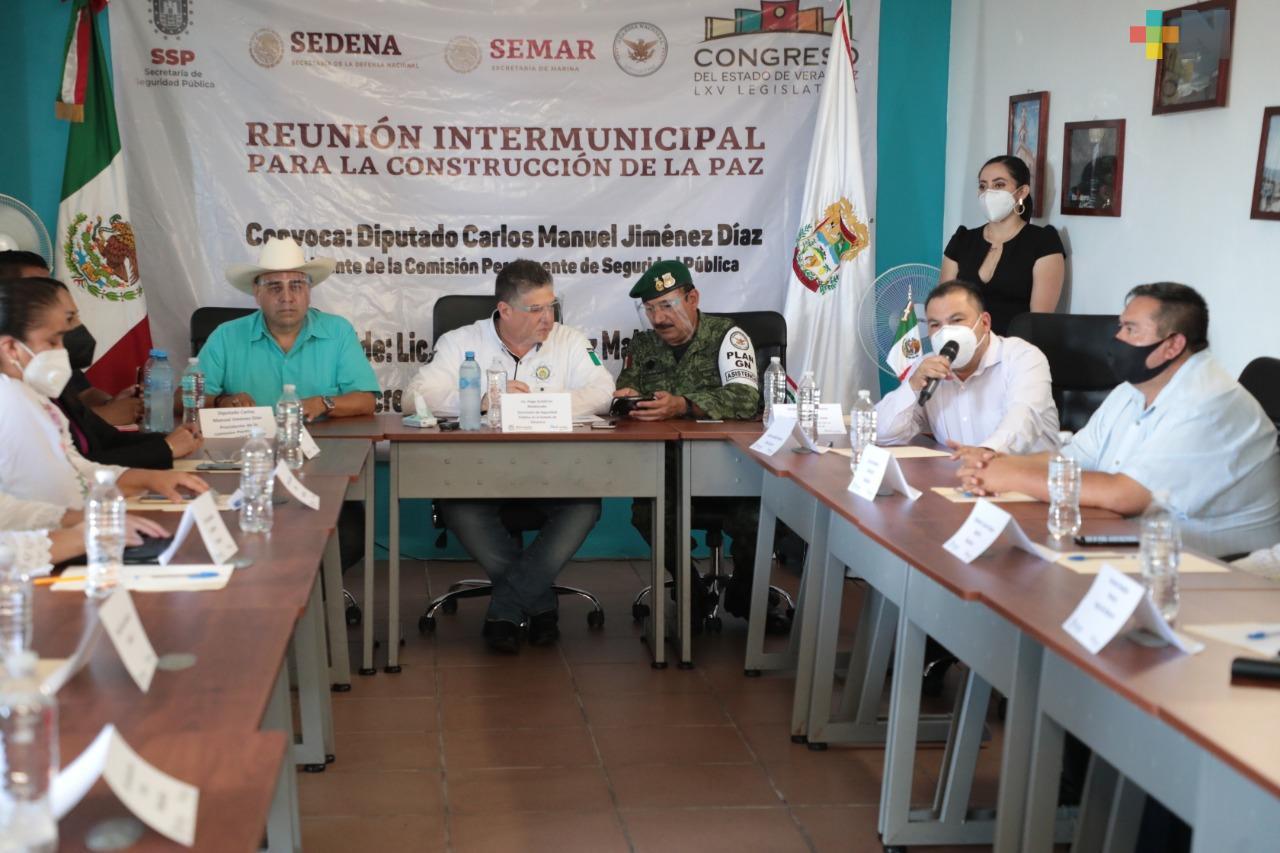 Fortalecimiento del diálogo con municipios, estrategia contra delincuencia: SSP