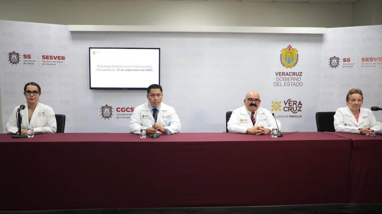 Registra Salud 30 mil 79 casos de COVID-19 en 203 municipios de Veracruz