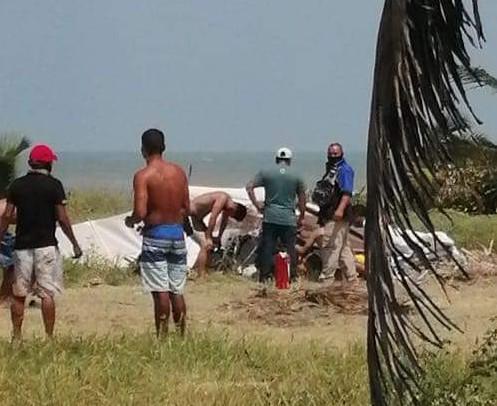 Aeronave que cayó en Tecolutla ofrecía vuelos turísticos