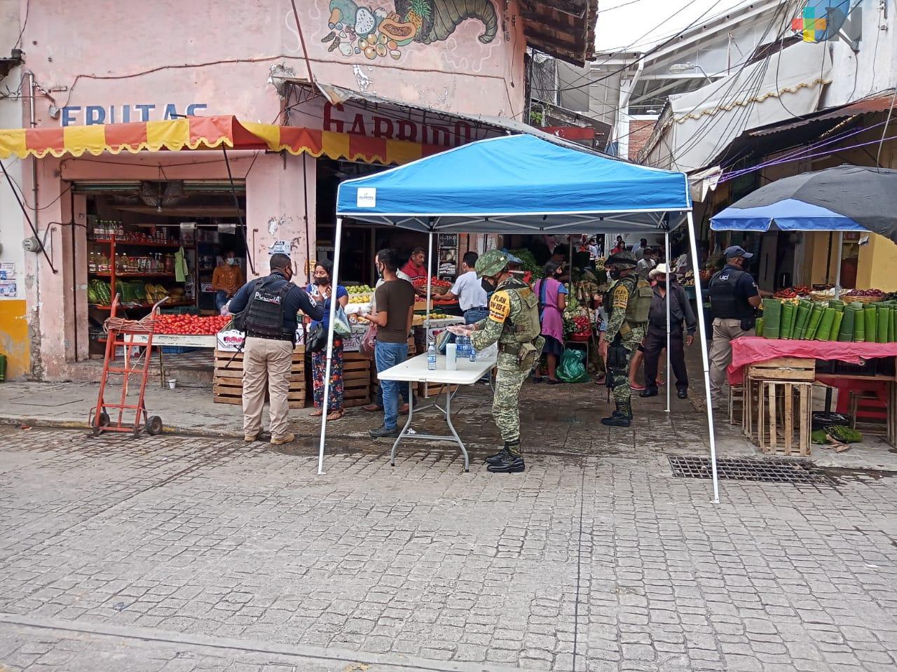 Instala SEDENA filtros sanitarios en Perote