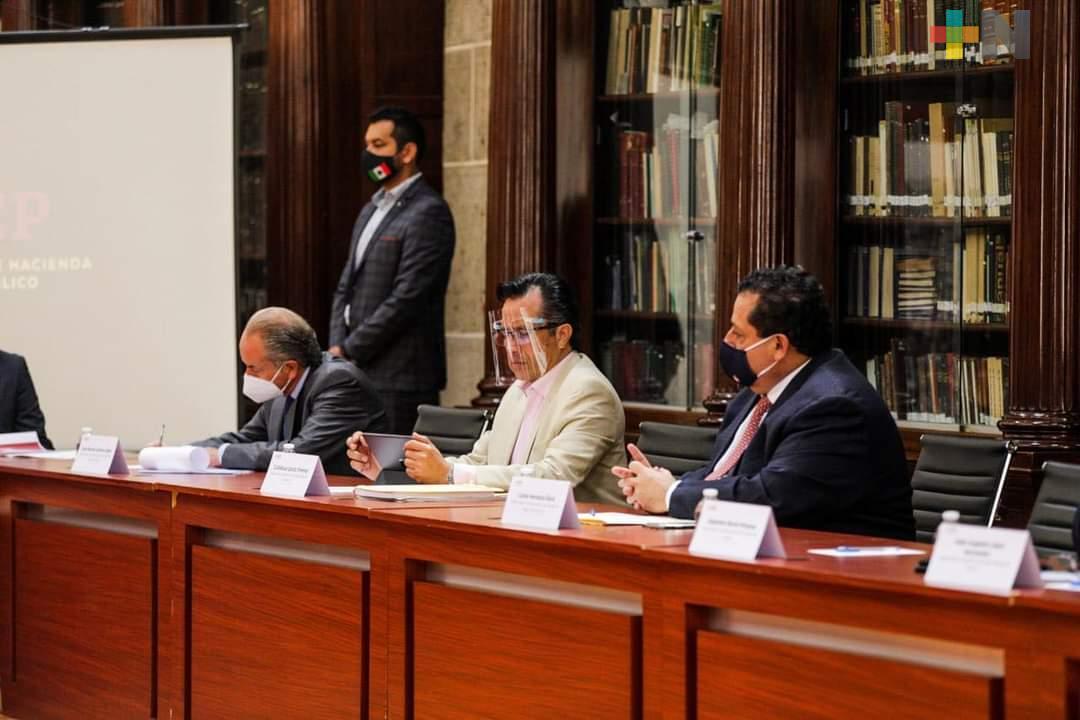 Preparan Federación y estados alternativas financieras ante déficit por pandemia: gobernador Cuitláhuac