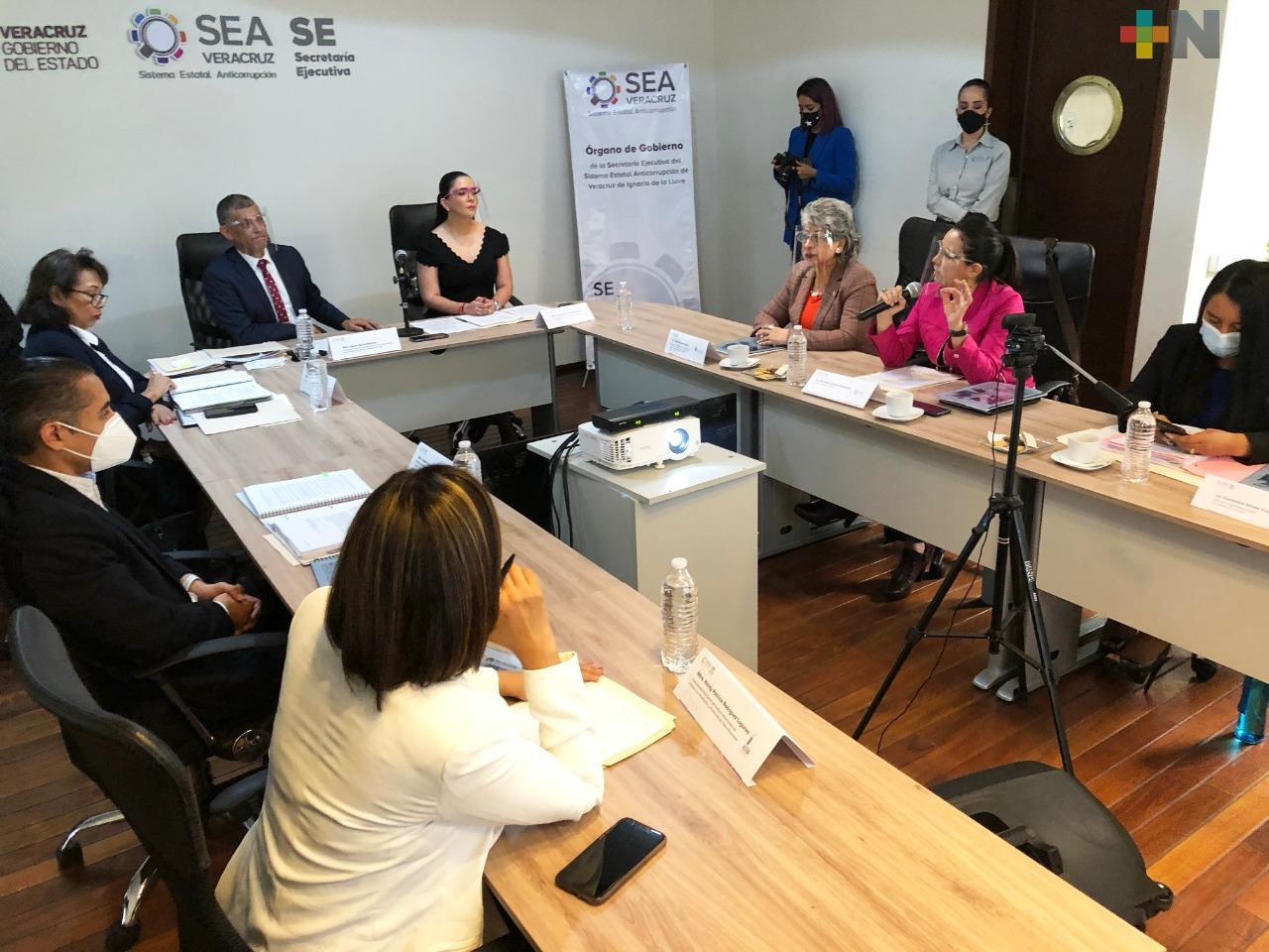 Orden y resultados de impacto en el Sistema Estatal Anticorrupción de Veracruz