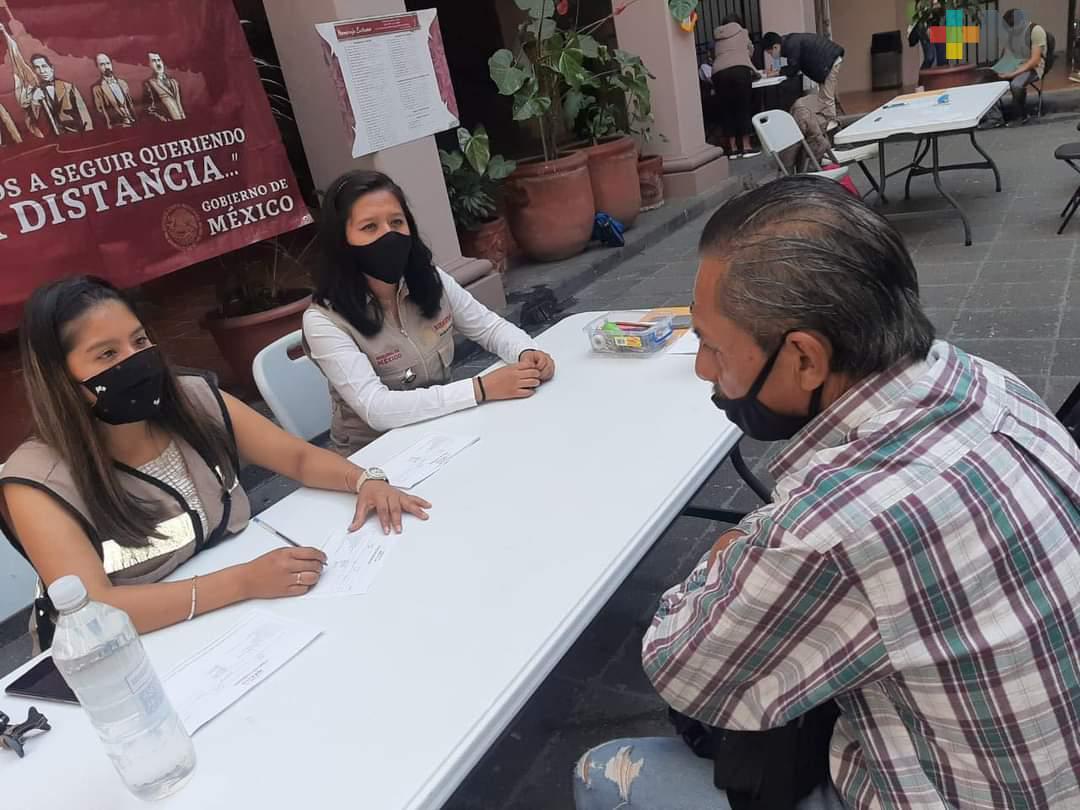 Instalan 12 Mesas de Atención, por visita presidencial a Veracruz