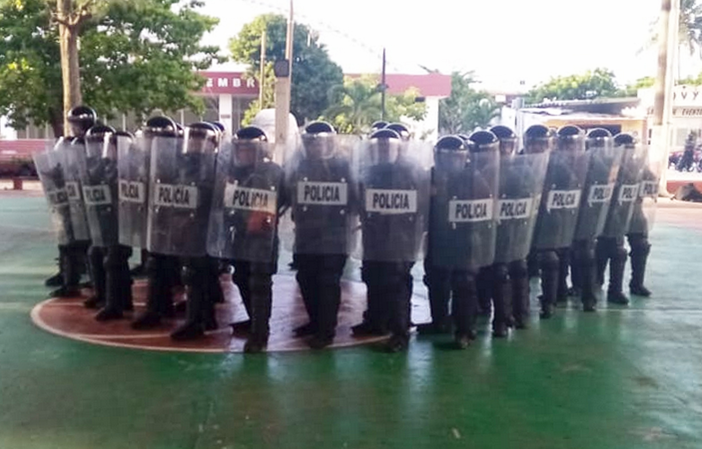 Capacita IPAX en materia de Disturbios Civiles a policías de la zona sur de Veracruz