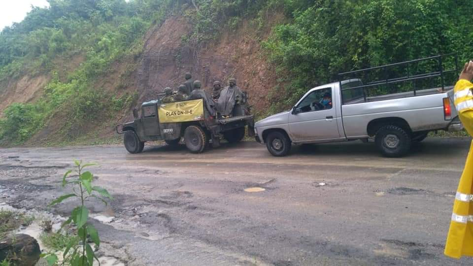 SPC reporta 15 municipios con afectaciones por temporal lluvioso