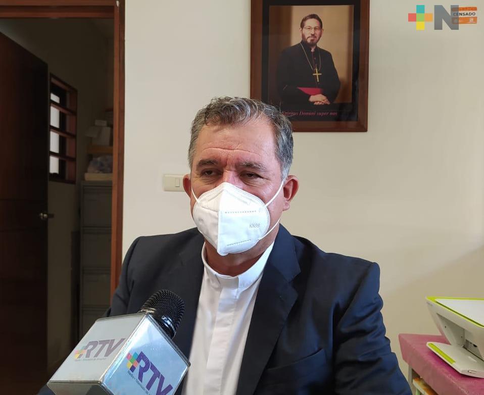 Se han realizado servicios religiosos con protocolos sanitarios: Arquidiócesis de Xalapa