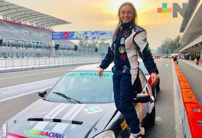 Laura Sanz lista para cuarta fecha en Copa Notiauto