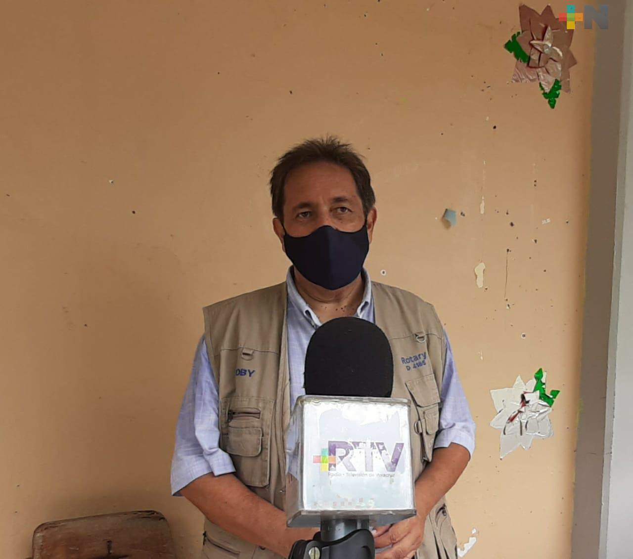 Por contingencia, Club Rotario Veracruz suspendió programa de reconocimiento escolar en Sierra de Zongolica