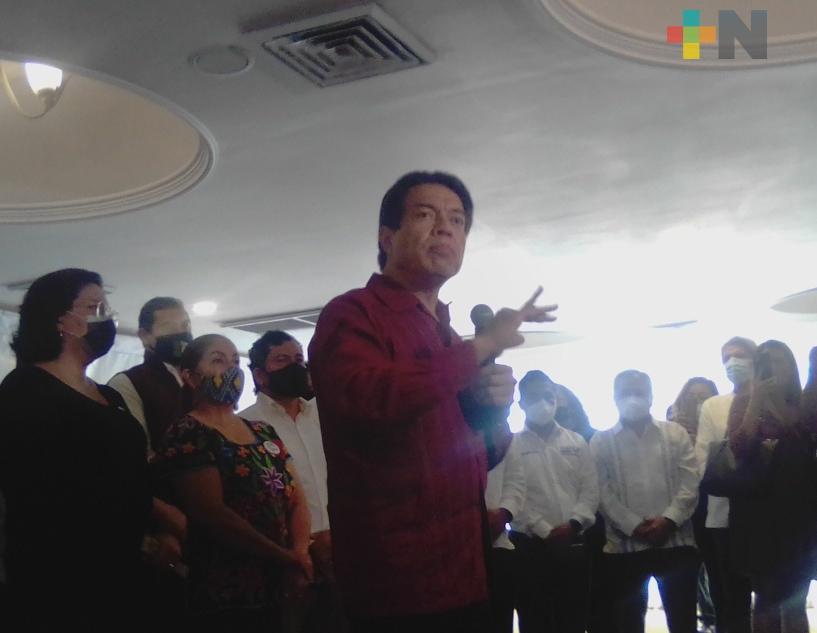 Unidad, conciliacion, fraternidad y diálogo pide Mario Delgado a MORENA