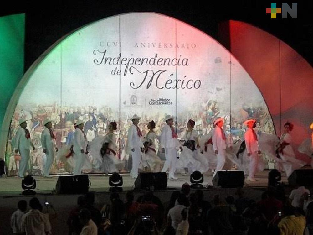 Municipios del sur de Veracruz realizarán celebración del Grito de Independencia de manera virtual