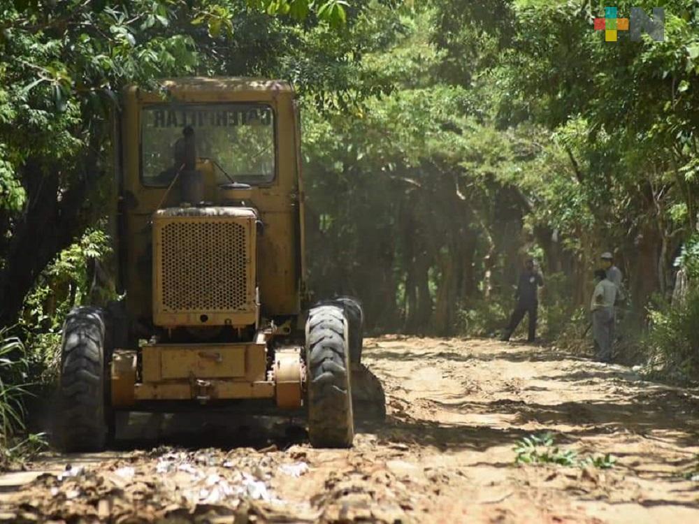 Pandemia, sin impedir avance de Plan de Obras 2020 del municipio de Agua Dulce