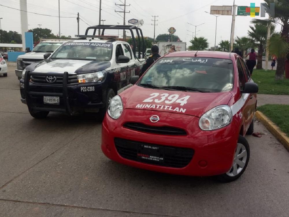 Policía municipal frustra secuestro en municipio de Minatitlán