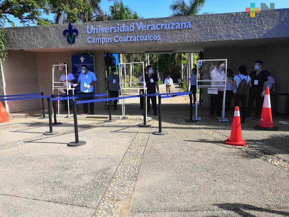Próximo 20 de septiembre se publicará lista de  corrimiento para ingresar a  UV, campus Coatzacoalcos y Minatitlán