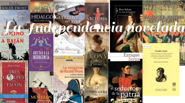 Presenta IVEC conferencia sobre la novela histórica de la Independencia