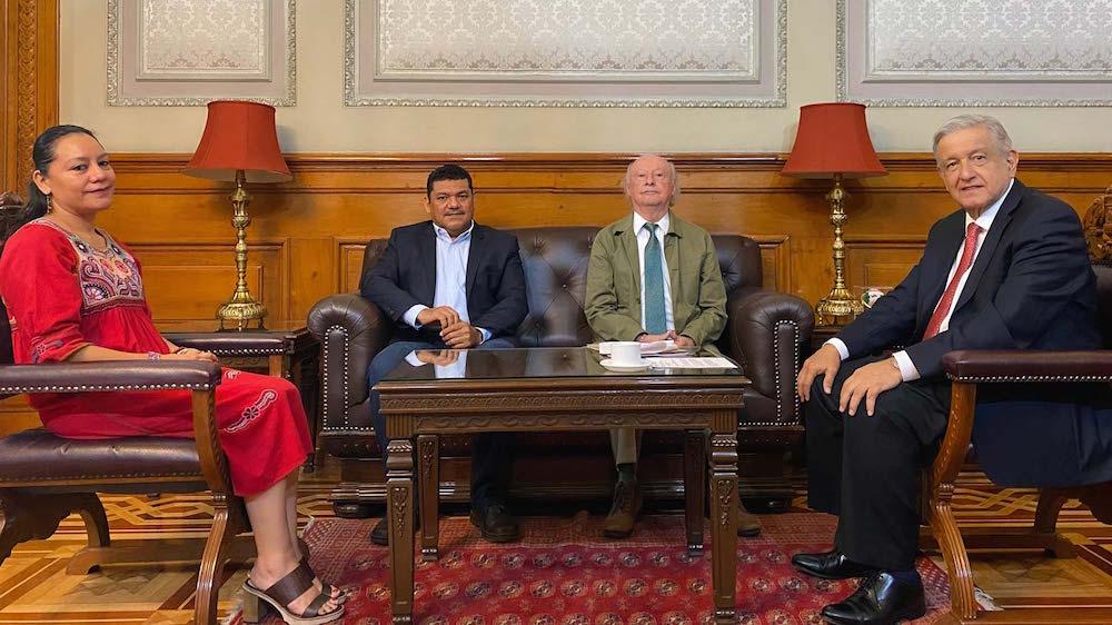 Presidente nombra secretaria de Medio Ambiente a María Luisa Albores y de Bienestar a Javier May