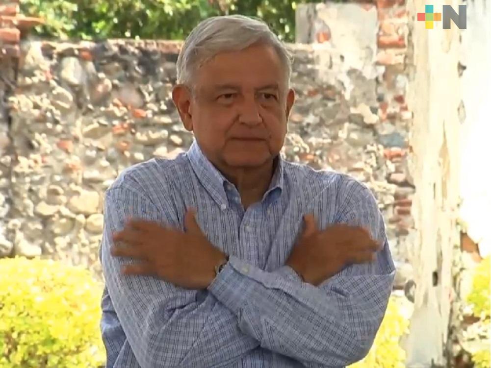 El Presidente López Obrador reacciona favorablemente a tratamiento; tiene síntomas leves