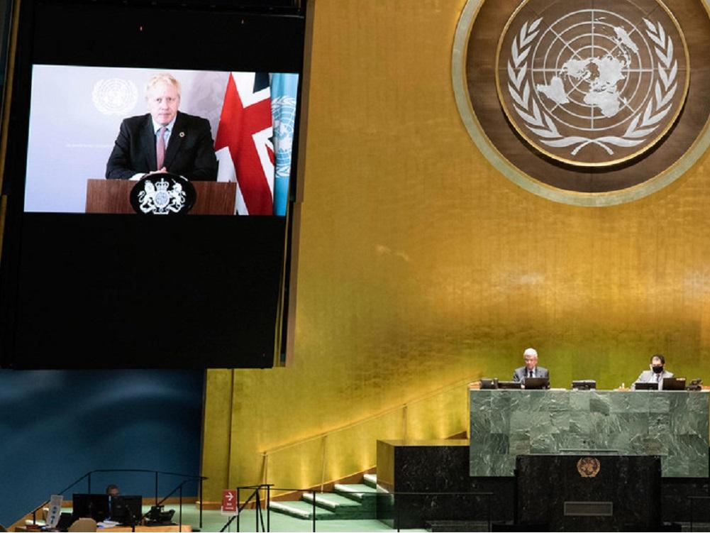 Primer ministro del Reino Unido llama a la unión mundial para luchar contra COVID-19