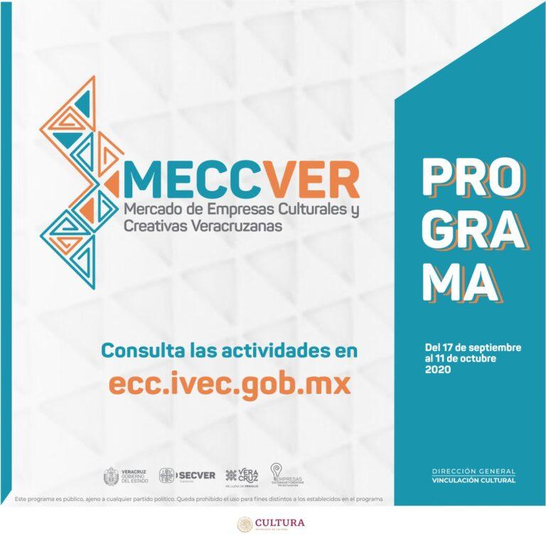 Organiza IVEC el primer Mercado de Empresas Culturales y Creativas Veracruzanas, MECCVER 2020