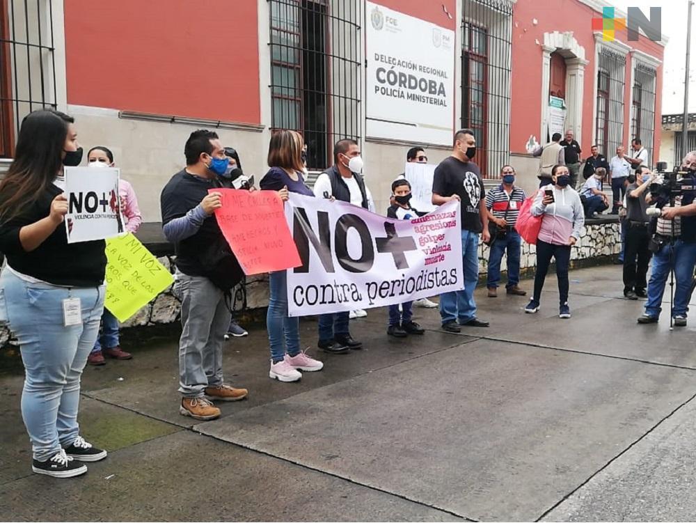 Periodistas de Córdoba y Orizaba realizan marcha pacífica, piden alto a las agresiones a integrantes del medio