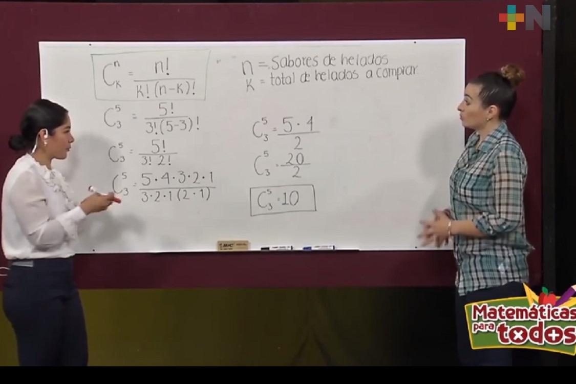 """SEV renueva y actualiza el programa """"Matemáticas para todos"""""""