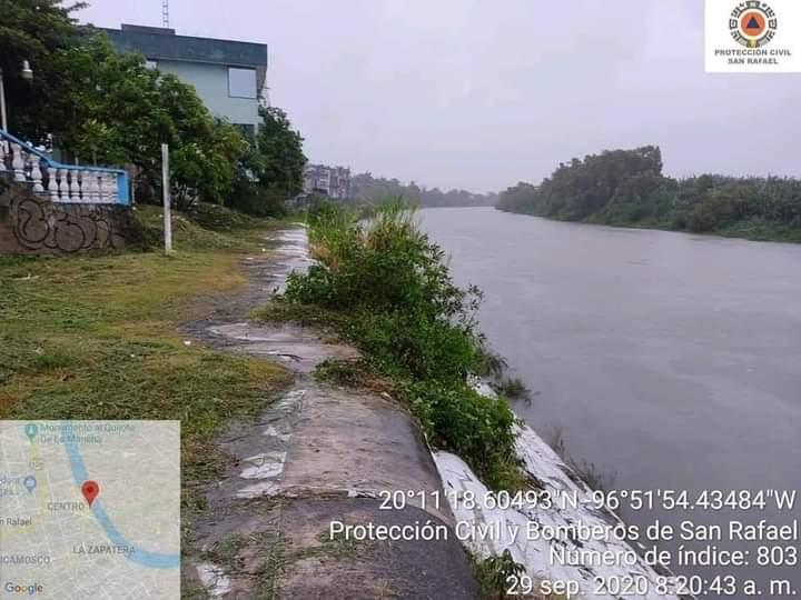 Al menos 17 municipios veracruzanos reportan afectaciones por el paso del Frente Frío 4: SPC