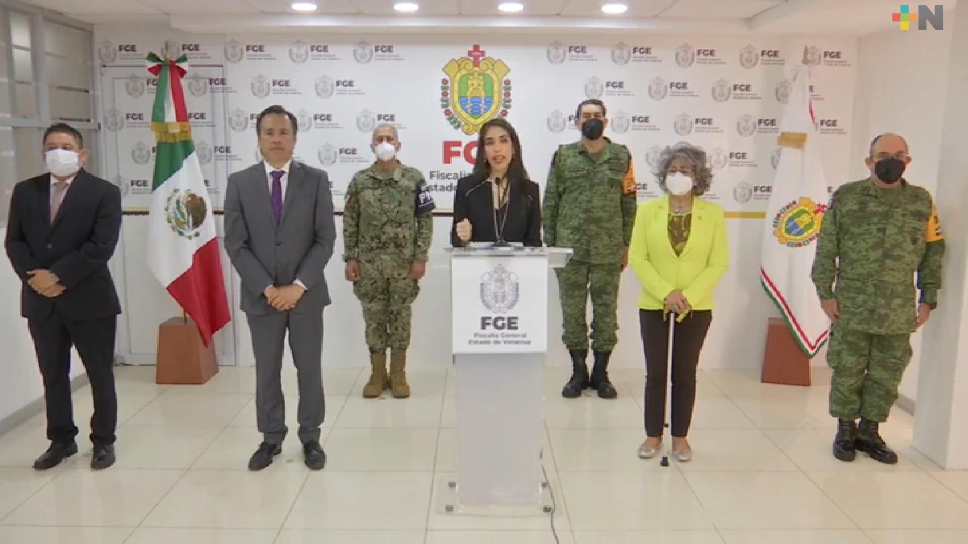Coordinación, la mejor estrategia para combatir a la delincuencia: Verónica Hernández Giadáns, a un año al frente de la FGE