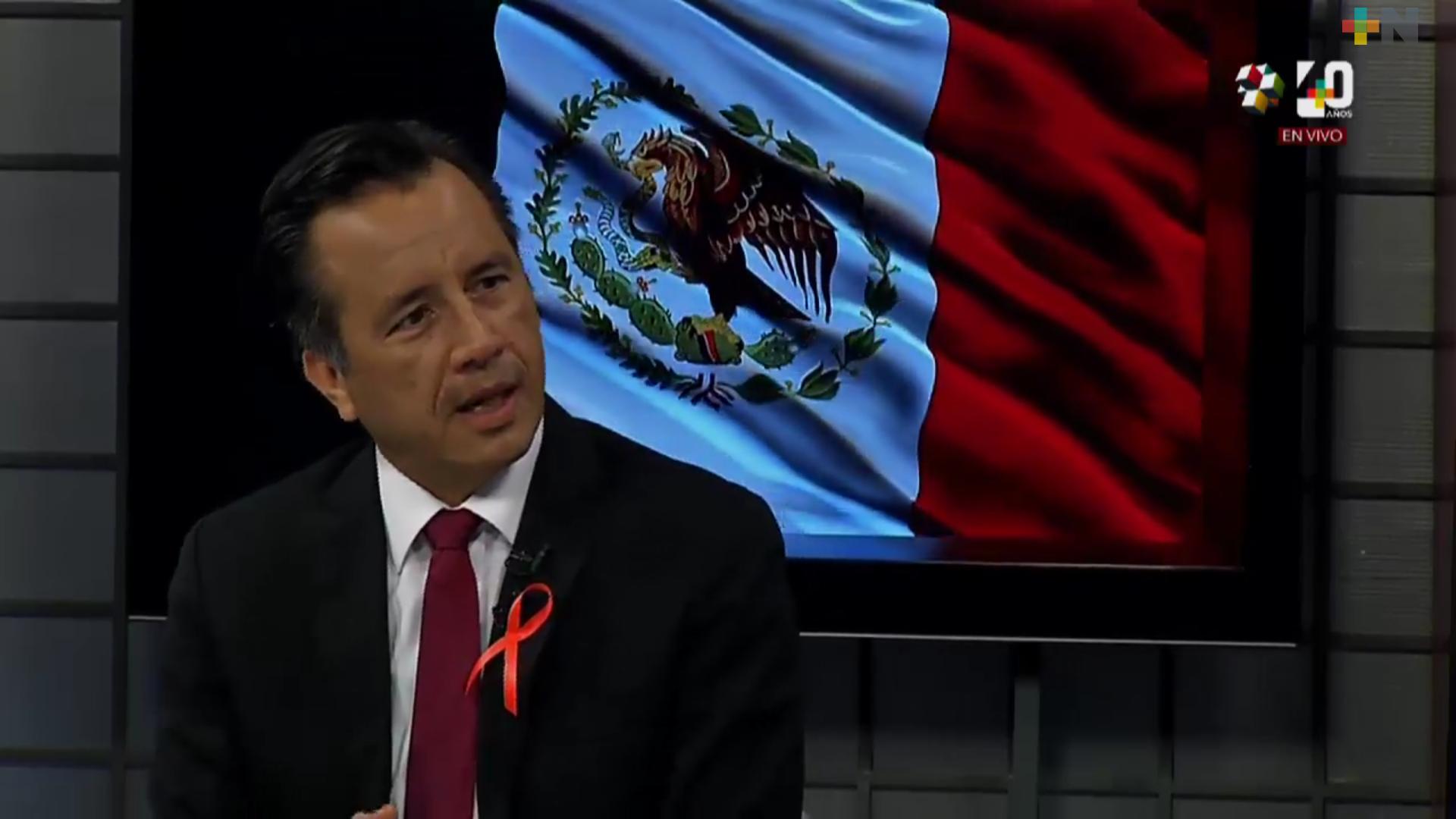 Saludable que el Presidente corrobore personalmente aplicación del programa Bienestar en Veracruz: Cuitláhuac García