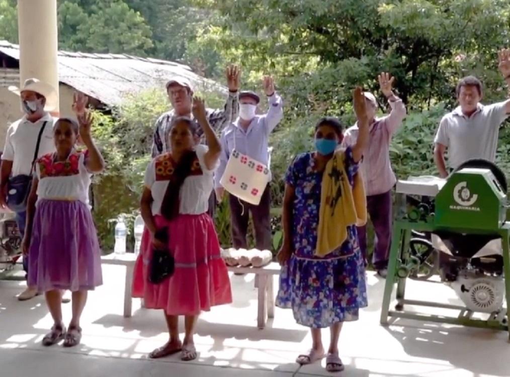 Sedarpa entregó apoyos a familias de la zona norte de Veracruz