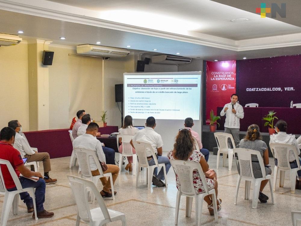 Existe plan de renegociación para municipios que bursatilizaron: Lima Franco