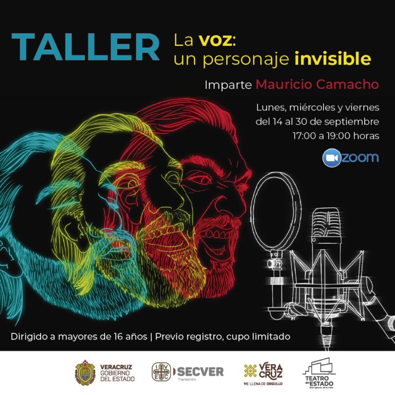 IVEC presenta taller para manejo de la voz en escena y locución