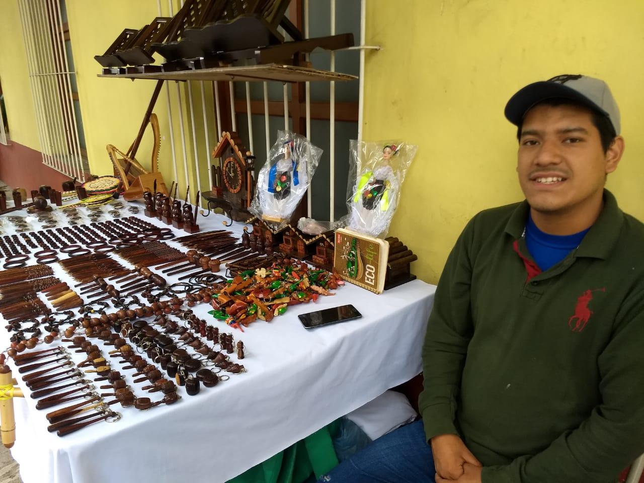 En Xico, Veracruz, siguen sin repuntar las ventas de productos regionales
