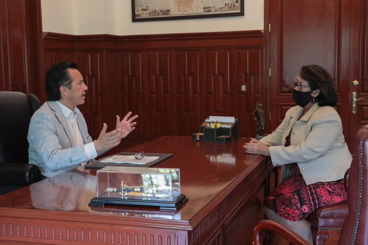 Refrendan Gobernador de Veracruz y titular del ORFIS, compromiso para combatir la corrupción