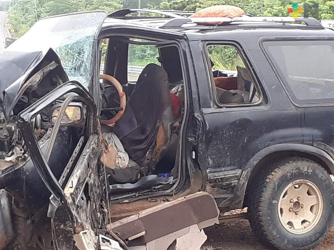 En Soconusco, muere mujer en accidente automovilístico