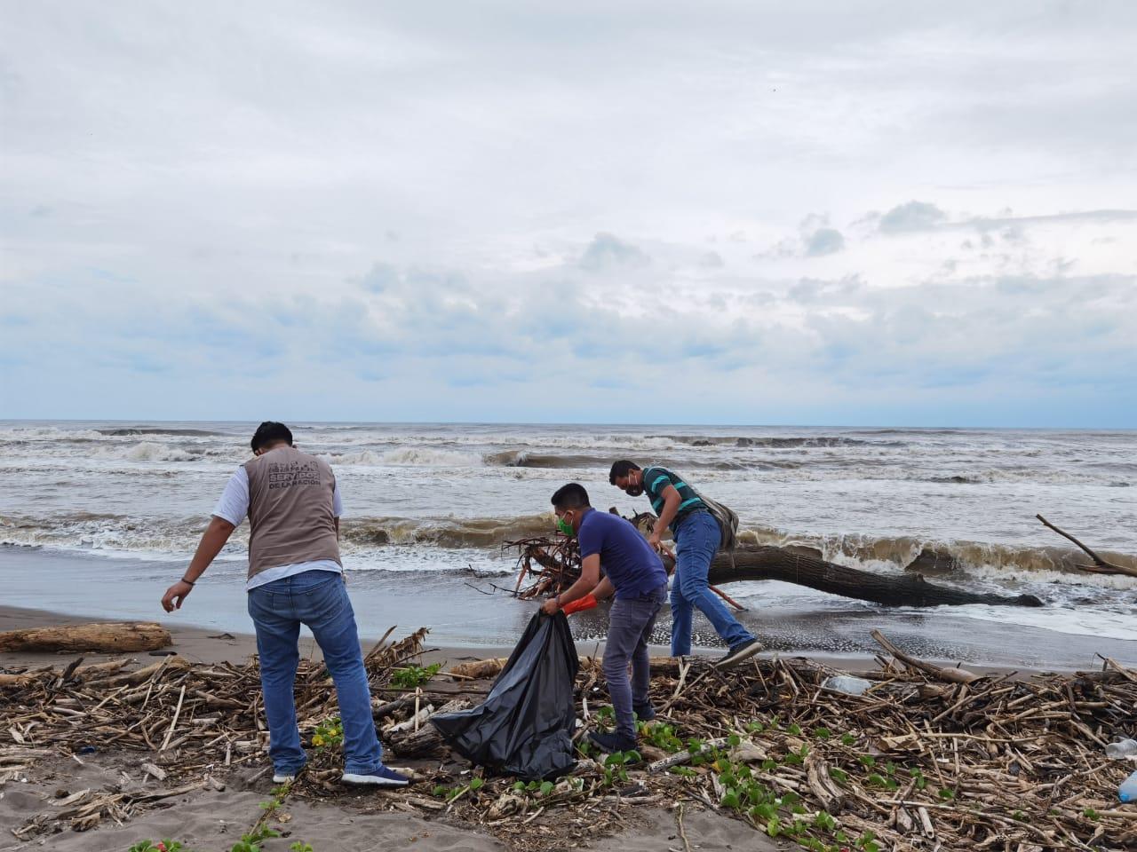 La Coordinación del Sector Ambiental Federal encabeza Día Mundial de Limpieza de Playas en Veracruz