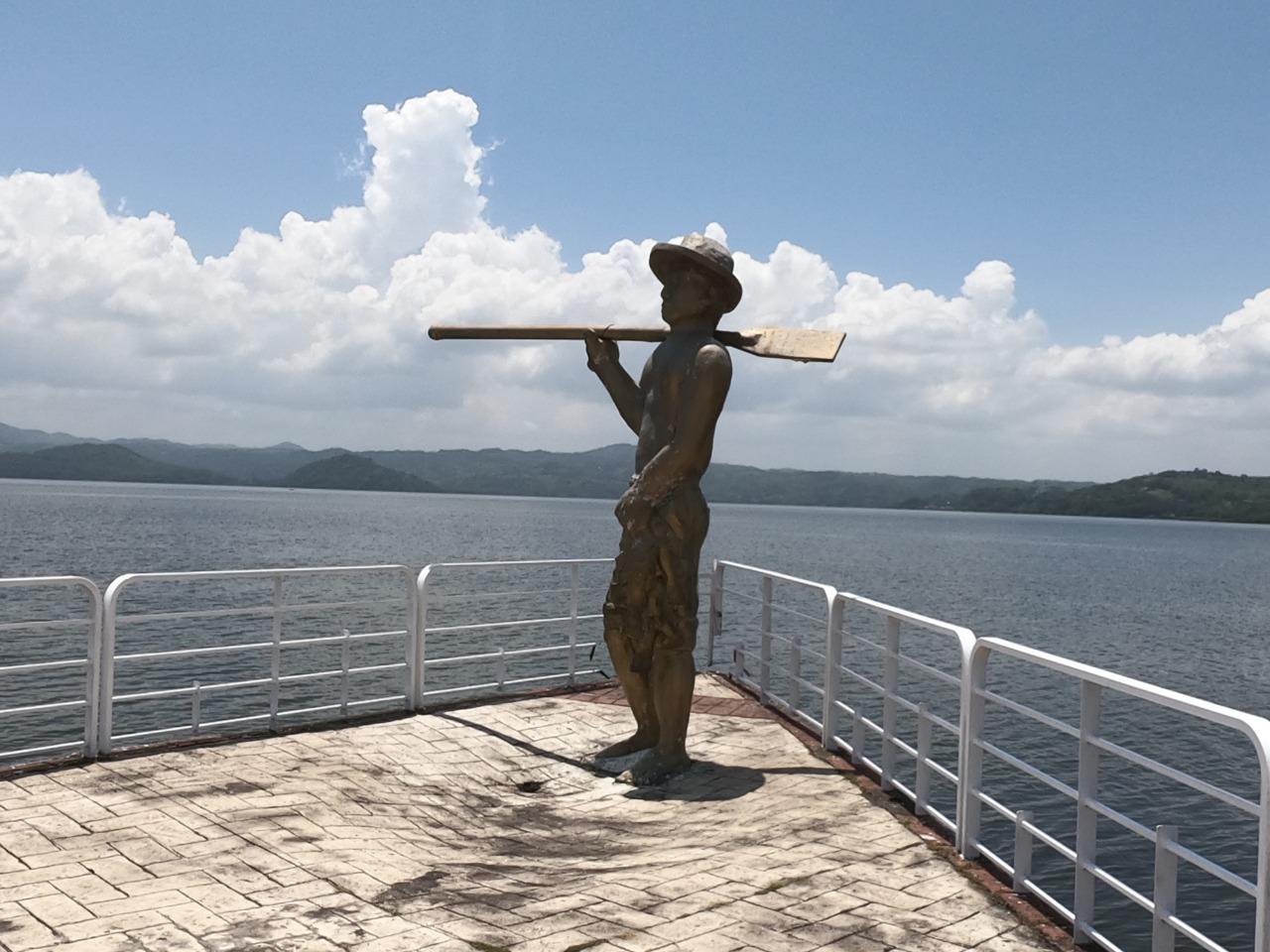 Catemaco, monumento al pescador