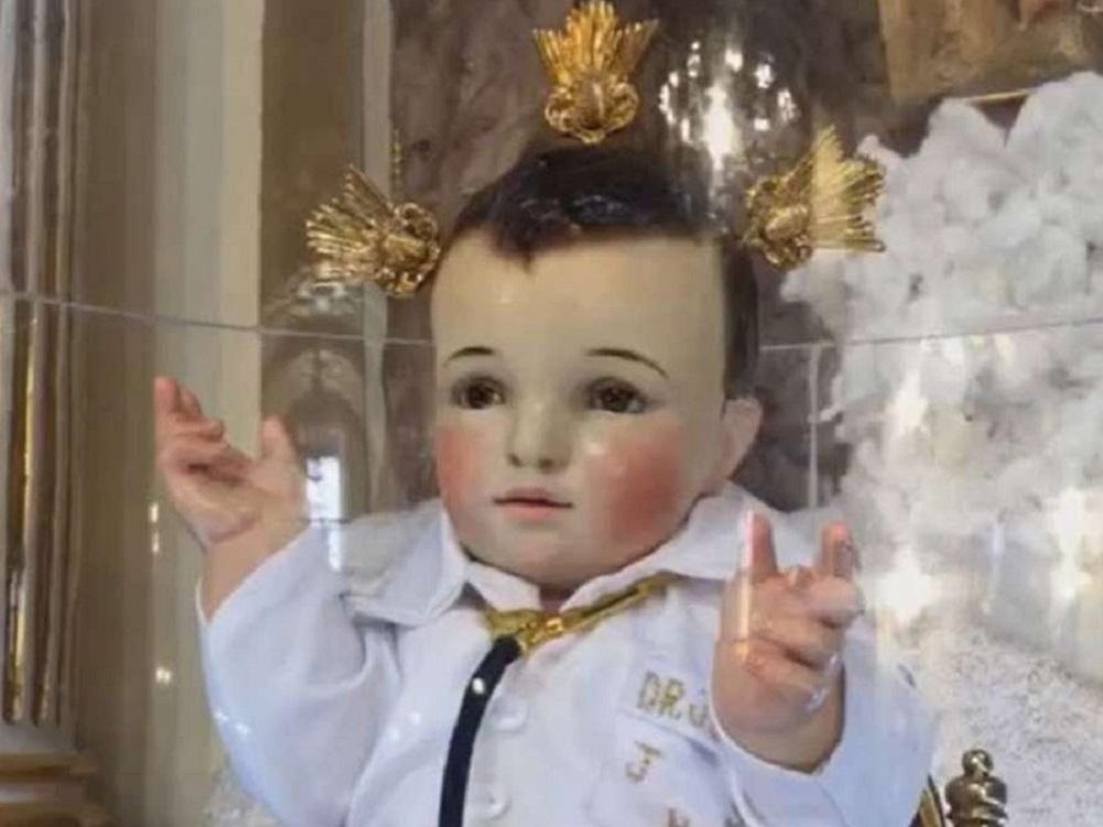 """Xalapeños buscan la imagen del """"Niño Doctor"""", para evitar contagiarse de coronavirus"""