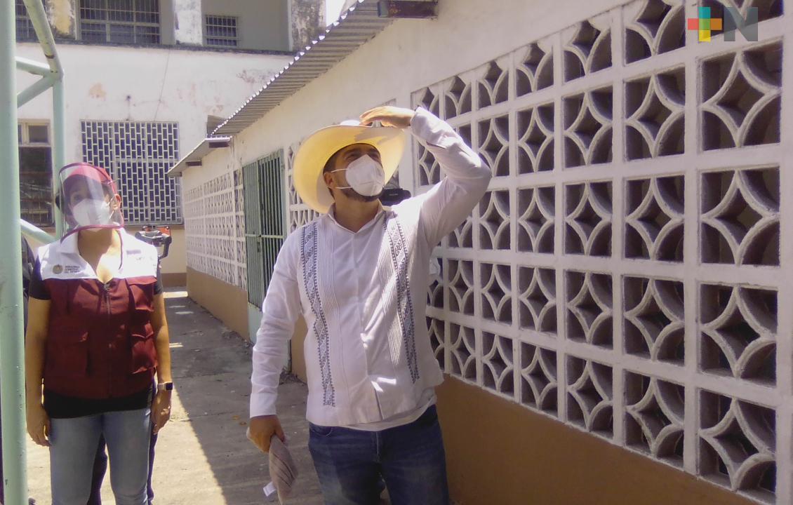 Se están rescatando 800 obras educativas inconclusas del gobierno anterior: Zenyazen Escobar