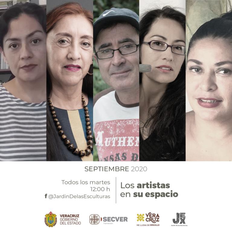 Invita IVEC a conocer talleres de creadores en Los artistas en su espacio