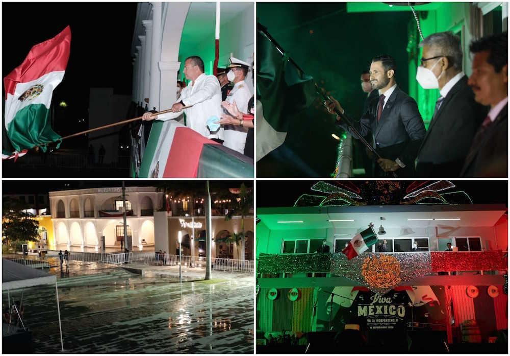 Boca del Río y Medellín de Bravo celebraron Grito de Independencia por redes sociales