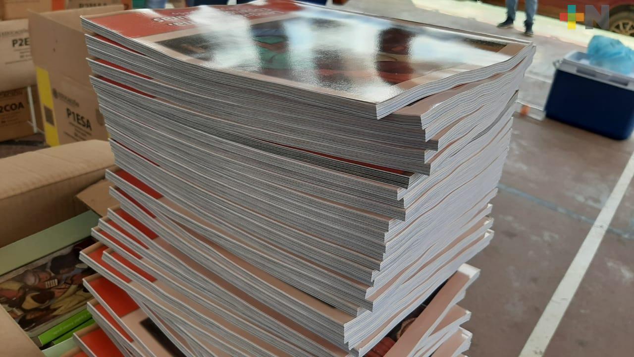 Esta semana inició entrega de libros de texto gratuitos en la zona norte de la entidad