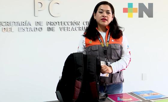 SPC recomienda tener lista una bolsa de vida en caso de emergencia