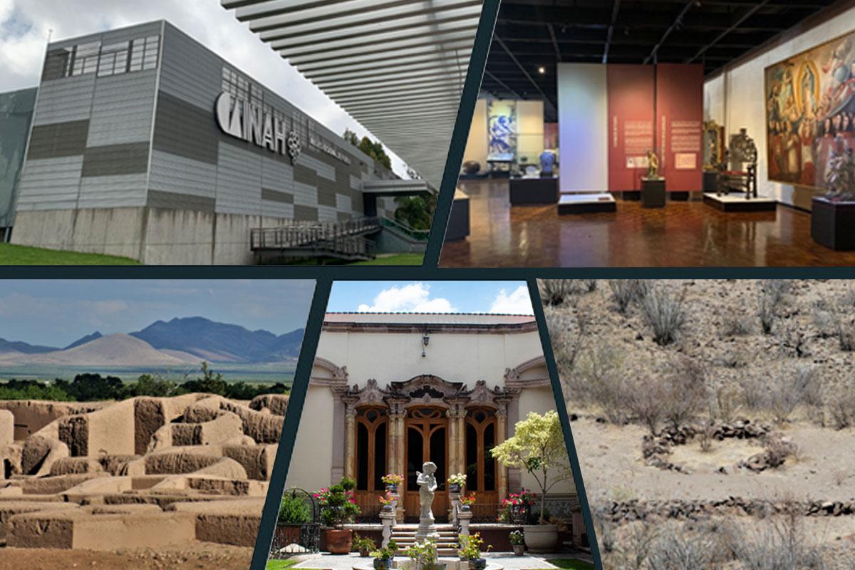 Entre el 15 y 17 de septiembre abrirán dos zonas arqueológicas y dos museos más: INAH