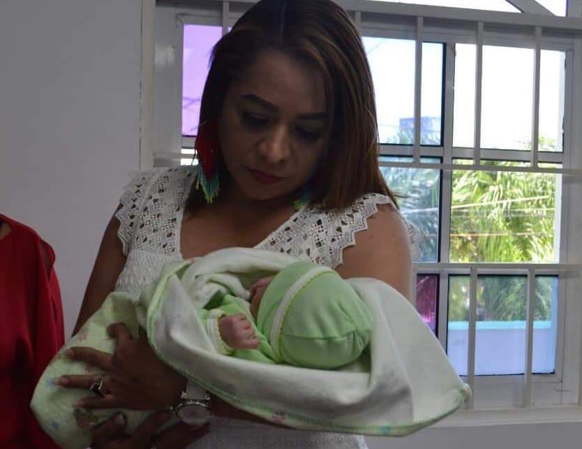 Recién nacido encontrado en potrero del municipio de Tamiahua, está bajo resguardo