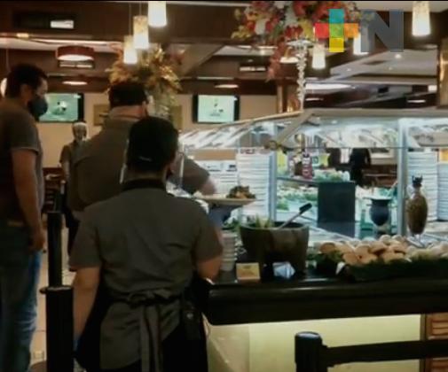 Restaurantes de Boca del Río reportan reservaciones para el 14 de febrero; refuerzan medidas sanitarias
