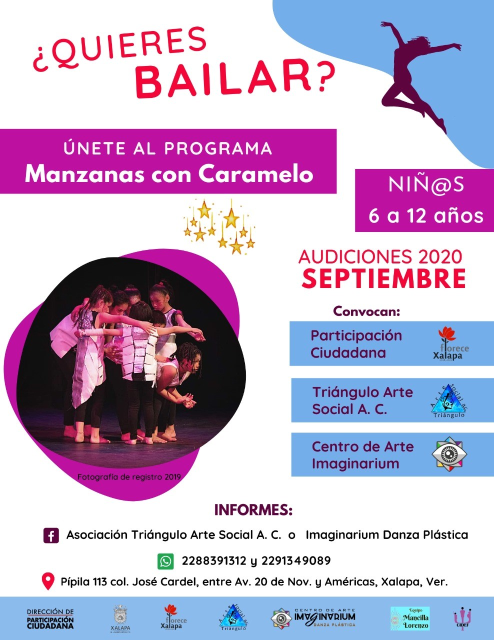 En Xalapa, invitan a participar en proyecto de danza