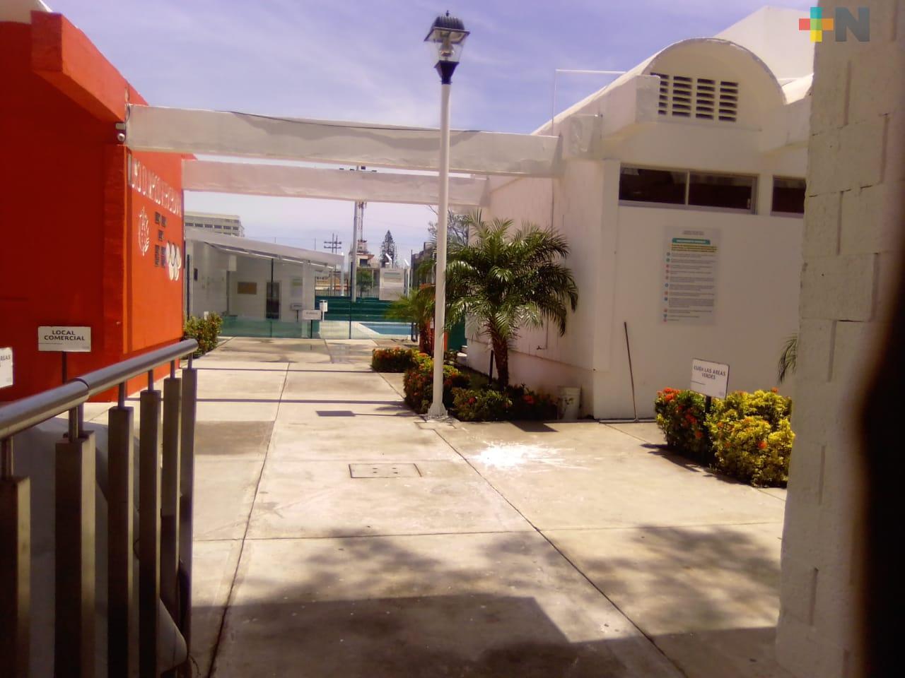Pese a semáforo rojo, reabren unidades deportivas de la ciudad de Veracruz